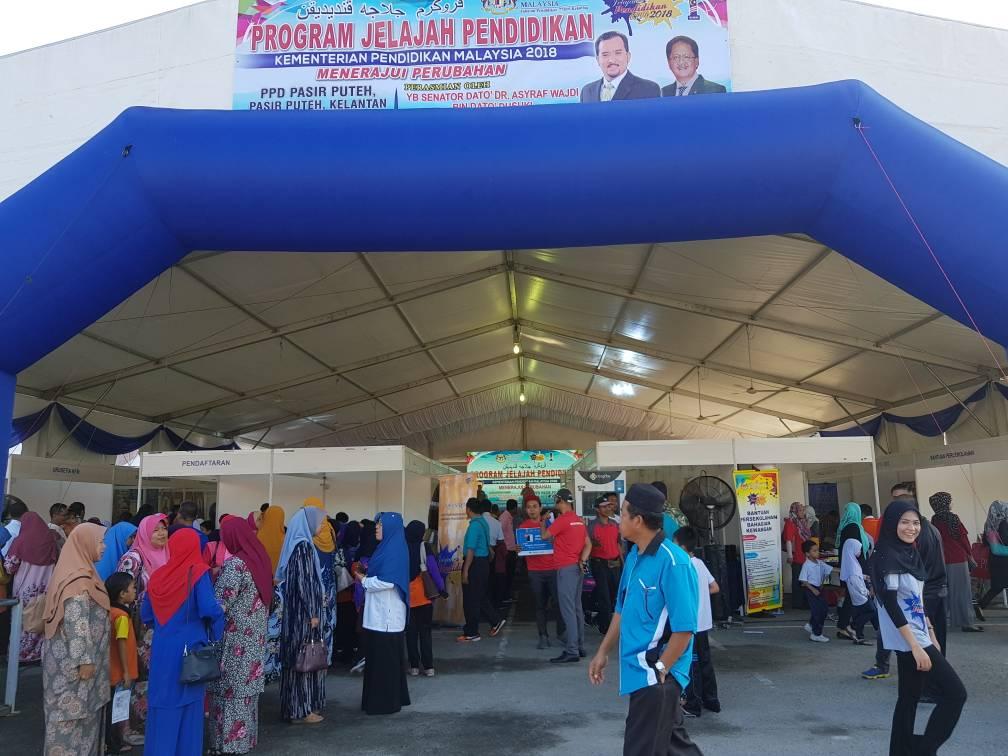Jelajah Pendidikan KPM Tahun 2018 Siri 3@Pasir Puteh, Kelantan