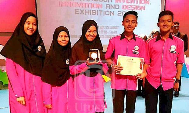 SMK Panji Alam menang pingat emas pertandingan BIIDE 2018