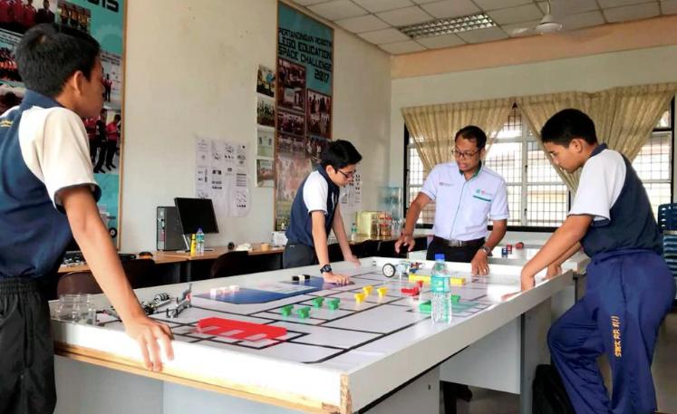2 sekolah wakil Malaysia ke pertandingan robotik