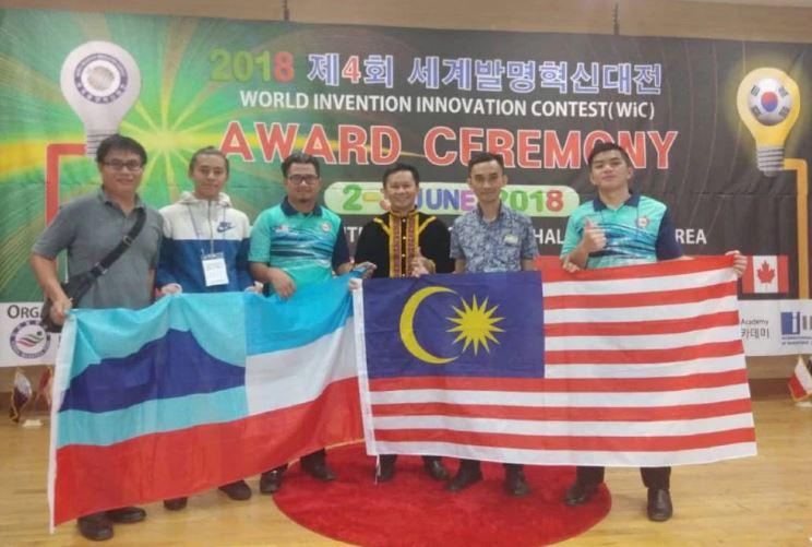 Kolej Vokasional Keningau ungguli pertandingan inovasi dunia