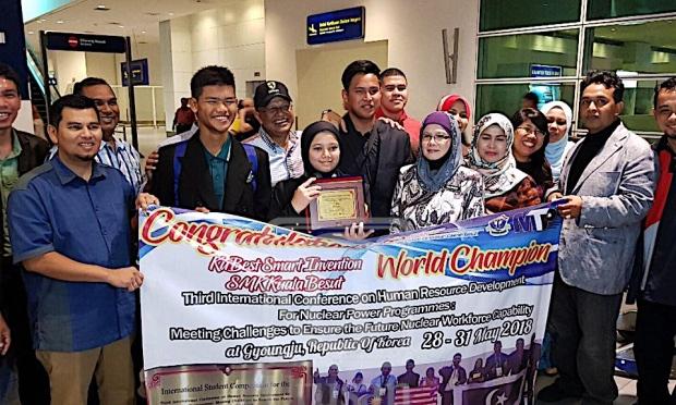 3 pelajar SMK Kuala Besut ditawar ikuti latihan IAEA