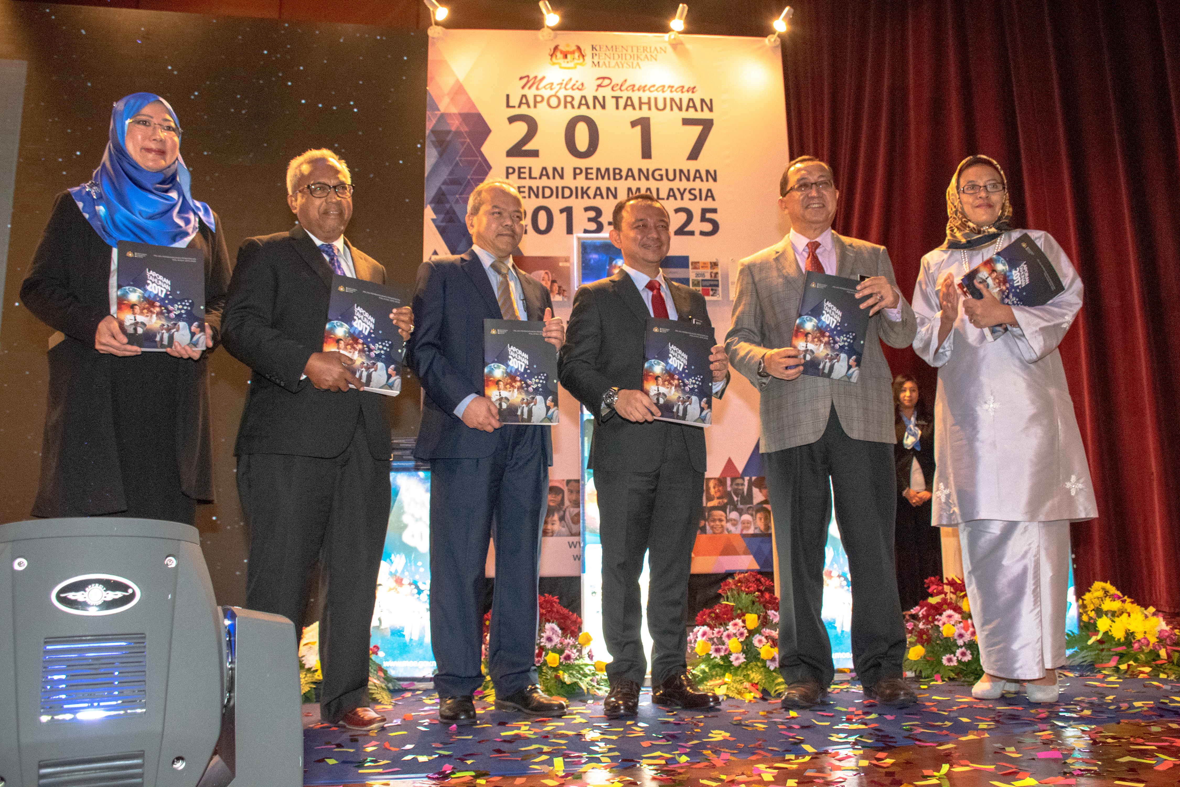 MAJLIS PELANCARAN LAPORAN TAHUNAN 2017 PELAN PEMBANGUNAN PENDIDIKAN MALAYSIA 2013-2025