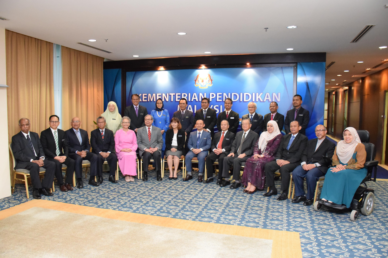 Majlis Penyerahan Watikah Pelantikan dan Mesyuarat Ahli Majlis Penasihat Pendidikan Kebangsaan (MPPK)