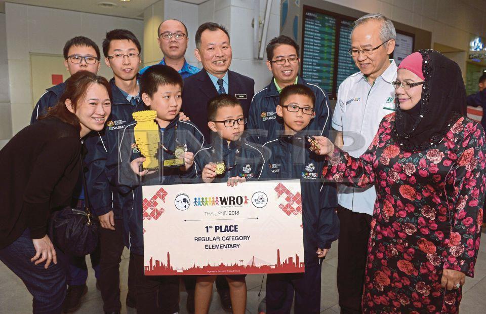 Malaysia juara World Robot Olympiad (WRO) ke-15