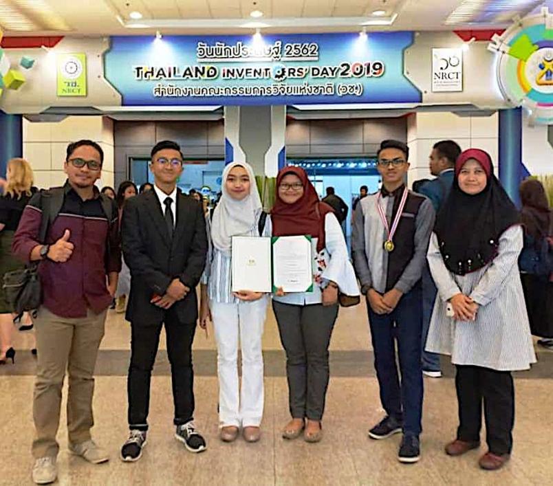 Penyelidik muda SMK Mengkuang, rangkul pingat emas di Ipitex 2019
