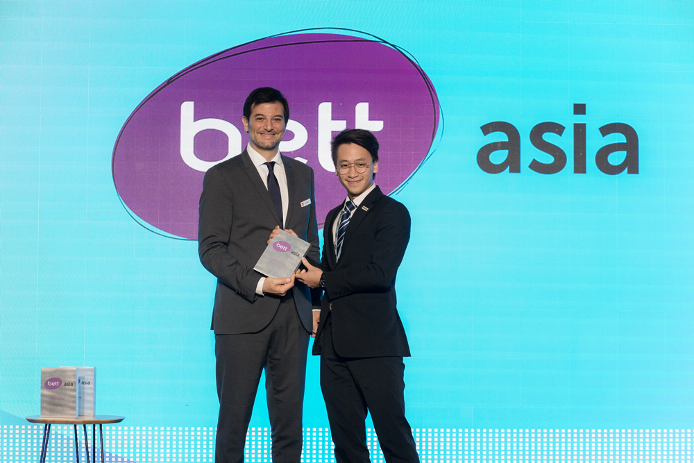 PADU wins Bett Asia 'Game Changer' Award